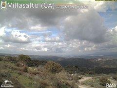 view from Villasalto on 2018-02-19