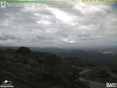 view from Villasalto on 2018-05-09