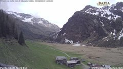 view from Val di Rèzzalo NE on 2018-05-12