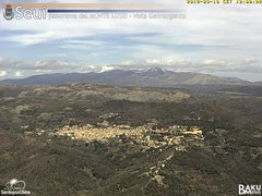 view from Monte Lusei Seui on 2018-03-10