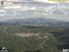 view from Monte Lusei Seui on 2018-05-17
