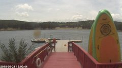 view from Angel Fire Resort - Monte Verde Lake on 2018-05-21