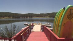 view from Angel Fire Resort - Monte Verde Lake on 2018-06-04