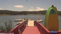view from Angel Fire Resort - Monte Verde Lake on 2018-06-14