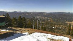 view from Angel Fire West View on 2018-02-05