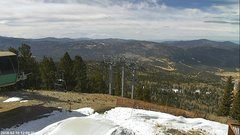view from Angel Fire West View on 2018-02-10