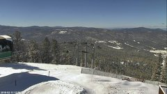 view from Angel Fire West View on 2018-02-11