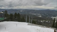 view from Angel Fire West View on 2018-02-12