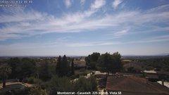 view from Montserrat - Casadalt (Valencia - Spain) on 2018-06-14