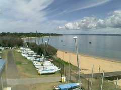 view from Cowes Yacht Club - West on 2018-02-13
