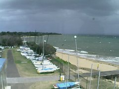 view from Cowes Yacht Club - West on 2018-02-14