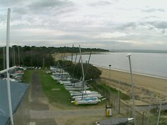 view from Cowes Yacht Club - West on 2018-04-24