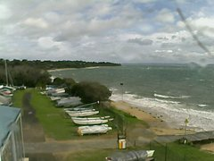 view from Cowes Yacht Club - West on 2018-06-15