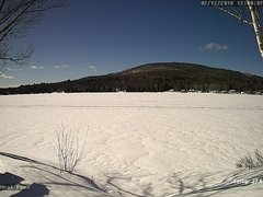 view from Neal Pond on 2018-02-12