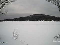 view from Neal Pond on 2018-02-14