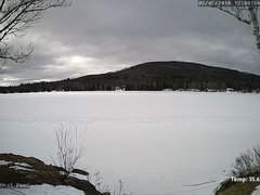 view from Neal Pond on 2018-03-05
