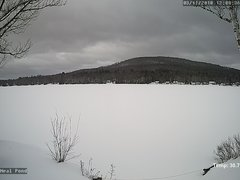 view from Neal Pond on 2018-03-11