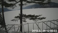 view from Bluffhead Hullets Landing, NY on 2018-02-09
