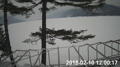view from Bluffhead Hullets Landing, NY on 2018-02-10