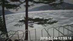 view from Bluffhead Hullets Landing, NY on 2018-02-16