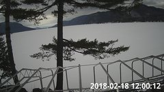 view from Bluffhead Hullets Landing, NY on 2018-02-18