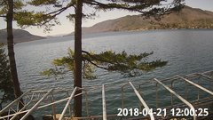 view from Bluffhead Hullets Landing, NY on 2018-04-21