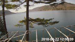 view from Bluffhead Hullets Landing, NY on 2018-04-22