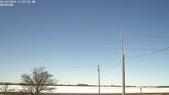 view from Ewing, Nebraska (west view)   on 2018-02-26