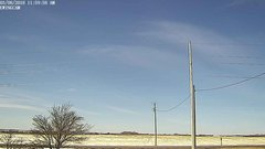 view from Ewing, Nebraska (west view)   on 2018-03-08