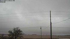 view from Ewing, Nebraska (west view)   on 2018-03-17