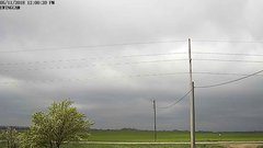 view from Ewing, Nebraska (west view)   on 2018-05-11