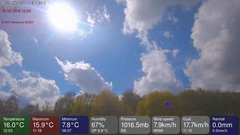 view from MeteoLive webcam SEREMANGE ERZANGE FR57 on 2018-04-16