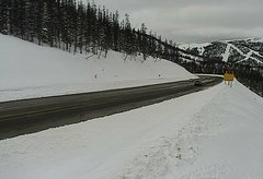 view from 4 - Highway 50 Road Conditions on 2018-02-12