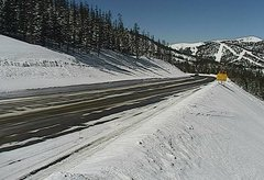 view from 4 - Highway 50 Road Conditions on 2018-02-26