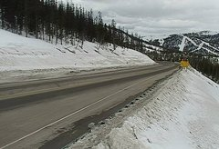 view from 4 - Highway 50 Road Conditions on 2018-03-13