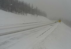 view from 4 - Highway 50 Road Conditions on 2018-03-16
