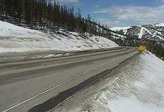 view from 4 - Highway 50 Road Conditions on 2018-04-02