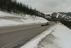 view from 4 - Highway 50 Road Conditions on 2018-04-16