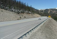 view from 4 - Highway 50 Road Conditions on 2018-05-16