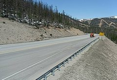 view from 4 - Highway 50 Road Conditions on 2018-05-17