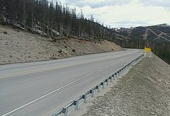 view from 4 - Highway 50 Road Conditions on 2018-05-23