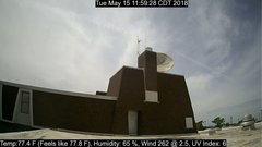 view from University Place Apartments - South Weather on 2018-05-15