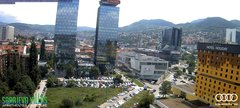 view from Sarajevo on 2018-06-04