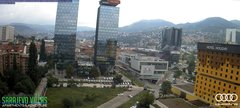 view from Sarajevo on 2018-06-10
