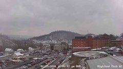 view from Highland Park Hose Co. #2 on 2018-02-19