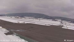 view from Mifflin County Airport (west) on 2018-02-06