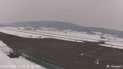 view from Mifflin County Airport (west) on 2018-02-09