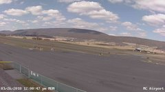 view from Mifflin County Airport (west) on 2018-03-26