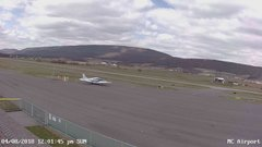 view from Mifflin County Airport (west) on 2018-04-08
