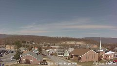 view from Highland Park Hose Co. #1 on 2018-03-19